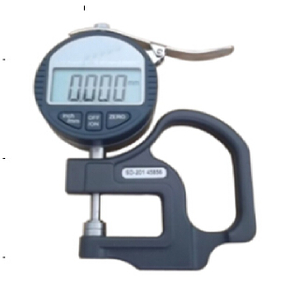 Display 0.001-10mm Testing Range Thickness Measuring Meter
