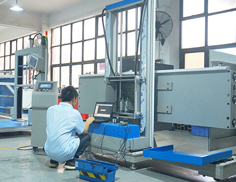 Equipment debugging