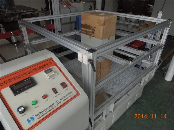 Program Simulated Transport Box Vibration Testing Machine